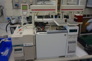 Gas Chromatography - Mass Spectrometry (GC-MS) with Gerstel Autosampler x2