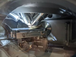 JdLC ToF-SIMS analysis chamber